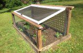 Fortaleza de jardín para detener los ciervos y otros depredadores vegetales