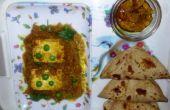 Punjabi estilo Matar Paneer