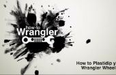 Cómo Plasti Dip Jeep Wrangler llantas (sin quitar las ruedas)