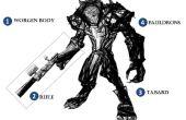 Huargen feroz / hombre lobo cazador (Ranger) traje para niño