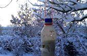 Alimentador del pájaro del animal doméstico botella
