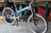 Cómo construir una bicicleta de montaña suspensión