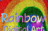 Arco iris digital - cómo colorear desde cero