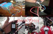 Cómo hacer teléfono móvil cargador para tu moto