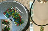 Doodle pendientes (encantos joyería) por el plástico de reciclaje #6 (hacer tus propio shrinky dinks!)