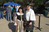 Renacentistas trajes - traje del guerrero celta