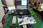 Portátil, modular electrónica Arduino experimentadores y reparación laboratorio establecido.