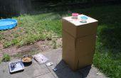 ¿Como hacer un ahumador de cartón