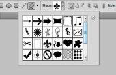 Crear una forma personalizada en Photoshop