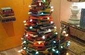 Árbol de Navidad de bibliófilo