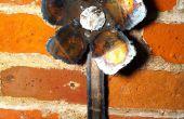 Flor de Metal de hoja práctica corte por Plasma y soldadura