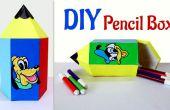 Divertidas manualidades para niños: Cómo hacer el lápiz en forma de caja de lápices.