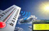 Diseño de sistema de medición de temperatura sin hilos
