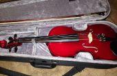Cómo cambiar una cuerda de violín