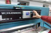 Usando Arduino de industria (en máquina guillotina de papel)