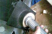 Eliminación de herramientas de poder para extractor de polvo de polvo