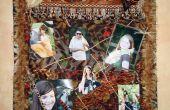 Salvaje en el corazón-foto Collage del colgante de pared