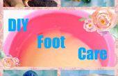 Cuidado de bricolaje barato los pies