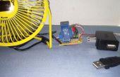 Azul elegante zócalo - dispositivo/App(smart surge protector)