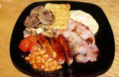 Cómo hacer un tradicional desayuno irlandés completo
