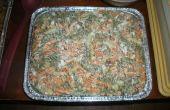 Ensalada de coditos de tocino/bluecheese plato barbacoa