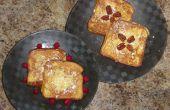 Relleno de pan tostado francés
