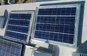 BRICOLAJE paneles solares de RV o de la rejilla