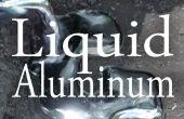 Fundir el aluminio con un agujero en el suelo