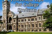 Consejos de protección de robo de identidad para estudiantes universitarios