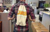 No coser Camiseta lazo mochila