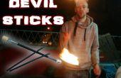 Palos del diablo - hacer, juego, quemadura del fuego!