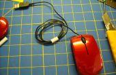 Ordenador portátil ratón cable Keeper