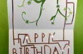 Tarjeta de cumpleaños de Chibitronics