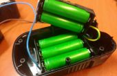 Convertir una black & decker taladro inalámbrico batería iones de litio