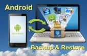 Cómo hacer Backup y restaurar el teléfono/Tablet Android
