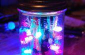 Luz LED Disco en un tarro!