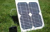 Cómo construí un iPhone Solar cargador para menos de $50.