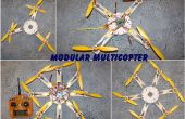 Multicopter modular, Quads, Hex, Oct, Y4, Y6, OCT X 4, hasta 16 motores.