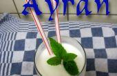 Ayran: Bebida de yogur Turco