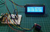 Biblioteca PIC de microchip para el Control de un 20 por 4 LCD sobre I2C
