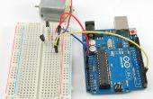 Monitor serial del control de la velocidad del motor de Arduio Dc... (no l293d)
