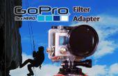 GoPro Poloarizer/ULTRAVIOLETA filtro adaptador Hack