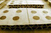 Cómo hacer cartón dominó