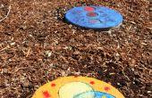 Piedras jardín coloridos