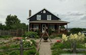 Frontal de la yarda sin hierba - reemplazar su césped con un jardín de comestible