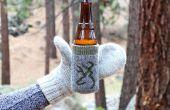 Mitones de Koozie de cerveza