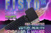 FISTO™ - el puño montado realidad Virtual teclado y Mouse