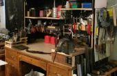 Espacio del taller en un lugar de alquiler