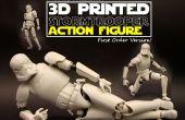 3D impresa la figura de acción de soldado de asalto! (Articulación realista)