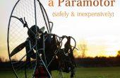 Construir y volar un Paramotor - segura y a bajo costo